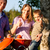 семьи · барбекю · саду · отцом · сына · вечеринка · ребенка - Сток-фото © kzenon