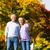 jesienią · spadek · spaceru · strony · starszy · para - zdjęcia stock © Kzenon