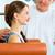 paziente · fisioterapia · donna · uomo - foto d'archivio © Kzenon