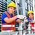 アジア · エンジニア · 作業 · バルブ · 2 · 建物 - ストックフォト © Kzenon