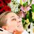 woman in cosmetic salon receiving facial stock photo © kzenon