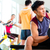 Asian people exercising sport for fitness in gym stock photo © Kzenon