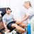paziente · fisioterapia · trattamento · diagnosi · miglioramento - foto d'archivio © kzenon