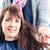 hairdresser blow dry woman hair in shop stock photo © kzenon
