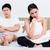 házasság · pár · házastársi · problémák · ágy · szex - stock fotó © kzenon