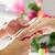 nő · manikűrös · kéz · masszázs · manikűr · kezek - stock fotó © Kzenon