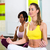 sani · donna · yoga · studio · isolato · ragazza - foto d'archivio © kzenon