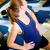 ブレーク · トレッドミル · 訓練 · 少女 · 短い · ジム - ストックフォト © Kzenon