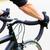 sport man having hands on handlebar of racing bike stock photo © kzenon
