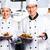 takım · şefler · restoran · mutfak · gıda - stok fotoğraf © kzenon