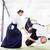 man and woman fighting at aikido martial arts school stock photo © kzenon