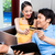 casal · compras · internet · sessão · secretária - foto stock © kzenon