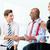 business handshake in meeting stock photo © kzenon