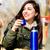 женщины · питьевой · горячий · напиток · улице · зима · молодые - Сток-фото © kzenon