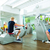 people in sport gym on machines stock photo © kzenon