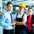 werknemer · klantenservice · fabrieksarbeider · productie · manager · kijken - stockfoto © kzenon
