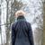 unhappy woman having walk in winter stock photo © kzenon