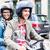 paar · motorfiets · helm · familie · jeans · jongen - stockfoto © kzenon