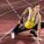 nő · meleg · felfelé · testmozgás · futás · egészség - stock fotó © kzenon
