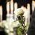 grief   man with white roses at urn funeral stock photo © kzenon