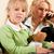 mujer · ministerio · del · interior · portátil · teléfono · madre · negocios - foto stock © kzenon