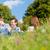 familie · knuffelen · vergadering · weide · zomer · vrouw - stockfoto © kzenon