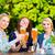 bier · bril · glas · blond · vol · schuim - stockfoto © kzenon