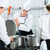 canteen kitchen with chefs during service stock photo © kzenon