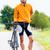 sport cyclist with bike having break stock photo © kzenon