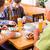 groep · mensen · tarwe · bier · pub · vrouwen · restaurant - stockfoto © kzenon
