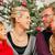 anya · gyermek · karácsonyfa · segít · kicsi · fiú - stock fotó © kzenon