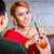 couple · hamac · cocktails · femme · fille · homme - photo stock © kzenon
