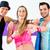 dançarina · zumba · fitness · treinamento · dançar · estúdio - foto stock © kzenon