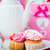coffee and cake on baby shower party stock photo © kzenon