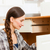 шкаф · женщину · работу · рабочих · мебель - Сток-фото © Kzenon