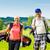 genç · çift · oynama · golf · golf · sahası · ayakta - stok fotoğraf © kzenon