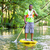 man paddling a sup on river stock photo © kzenon