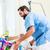 altos · hombre · silla · de · ruedas · casa · médicos · salud - foto stock © kzenon