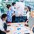 üzleti · csapat · megbeszél · projekt · kisvállalkozás · csapat · iroda - stock fotó © kzenon