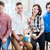team of young creative business people in office stock photo © kzenon