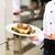 feminino · chef · restaurante · cozinha · cozinhar · hotel - foto stock © Kzenon