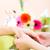 femme · manucure · mains · femmes · beauté - photo stock © kzenon