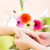 mulher · manicure · mãos · mulheres · beleza - foto stock © kzenon
