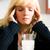 плохо · головная · боль · женщину · похмелье · мигрень · сидят - Сток-фото © Kzenon