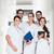 lekarza · pielęgniarki · stałego · szpitala · korytarz · kobieta - zdjęcia stock © kzenon