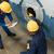 werknemers · metalen · cilinder · twee · ervaren · interieur - stockfoto © kzenon