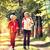 二人 · ジョギング · 一緒に · 孤立した · 白 · カップル - ストックフォト © kzenon