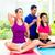kobiet · fitness · wykonywania · ludzi · mieszany - zdjęcia stock © Kzenon