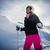 esquiar · esquiador · menina · inverno · férias · neve - foto stock © kzenon