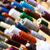 sewing thread on bobbins in tailor shop stock photo © kzenon